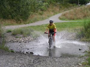 Mountainbiken in Hanmer Springs