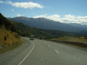 Onderweg richting Manapouri