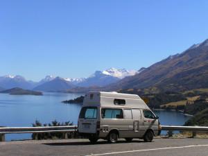 Langs Lake Wakatipu naar Glenorchy
