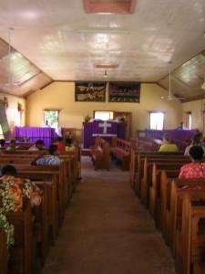 Kerk in Nalauwaki, Waya Island, Fiji